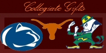 Collegiate gifts, throws quilts, lamsp, coins, photmins, decorations at the highland mint shop